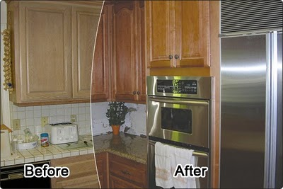 Kitchen Refacing example